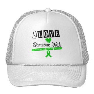I Love Someone With Traumatic Brain Injury Hats
