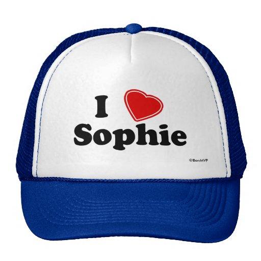 I Love Sophie Trucker Hat