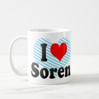 I love Soren Basic White Mug