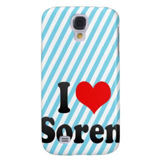 I love Soren Galaxy S4 Cover
