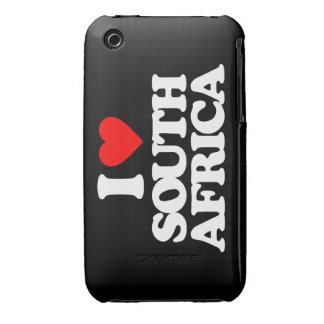 I LOVE SOUTH AFRICA iPhone 3 COVERS
