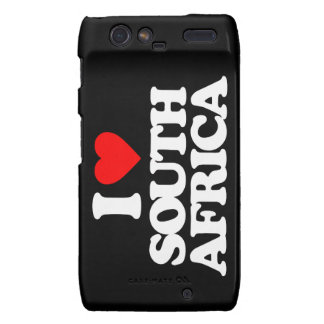 I LOVE SOUTH AFRICA DROID RAZR CASE
