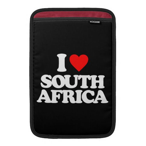 I LOVE SOUTH AFRICA SLEEVE FOR MacBook AIR