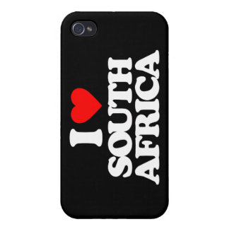 I LOVE SOUTH AFRICA iPhone 4/4S CASES