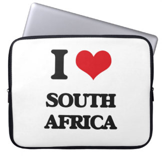 I Love South Africa Laptop Computer Sleeves