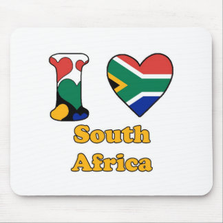 I love South Africa Mouse Pad