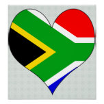 I Love South Africa Poster