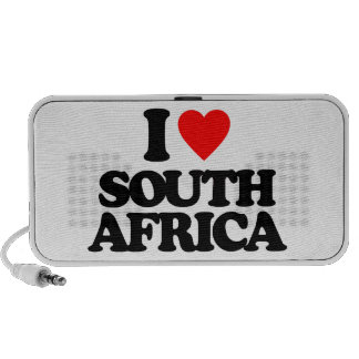 I LOVE SOUTH AFRICA NOTEBOOK SPEAKERS