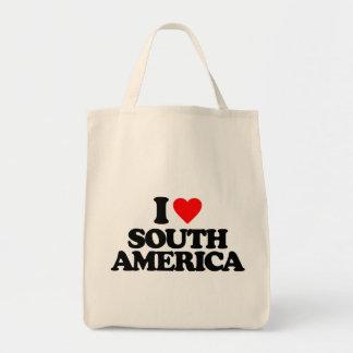 I LOVE SOUTH AMERICA BAG
