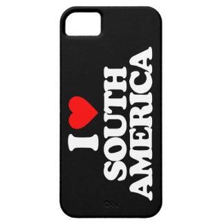 I LOVE SOUTH AMERICA iPhone 5 CASE