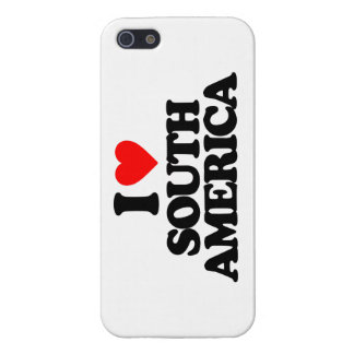 I LOVE SOUTH AMERICA COVER FOR iPhone 5/5S
