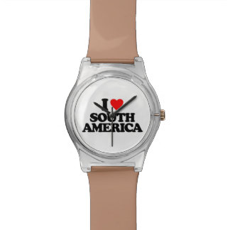 I LOVE SOUTH AMERICA WATCH