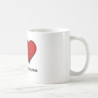 I LOVE SOUTH CAROLINA COFFEE MUG
