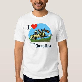 I Love South Carolina Country Taxi Shirt