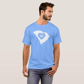 I Love South Carolina State Men's Dark T-Shirt