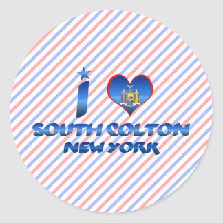 I love South Colton New York Sticker