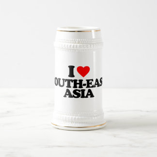 I LOVE SOUTH-EAST ASIA BEER STEINS