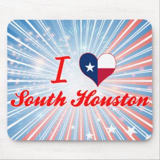 I Love South Houston, Texas Mousepads