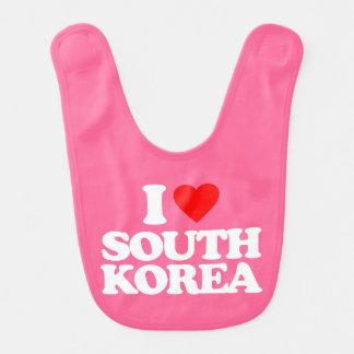 I LOVE SOUTH KOREA BIBS