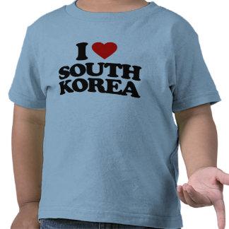 I LOVE SOUTH KOREA T-SHIRTS