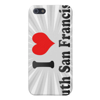 I Love South San Francisco, United States iPhone 5 Covers