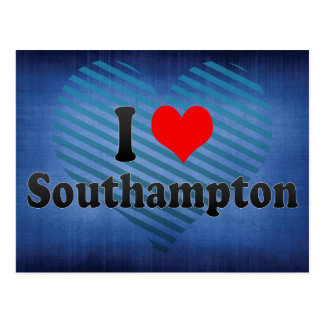 I Love Southampton, United Kingdom Postcard