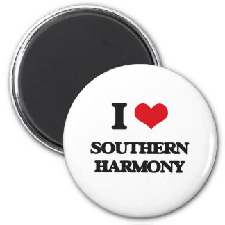 I Love SOUTHERN HARMONY Magnets