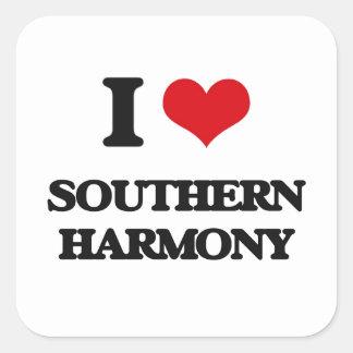 I Love SOUTHERN HARMONY Stickers