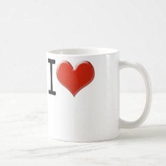 I Love souvenir Coffee Mug