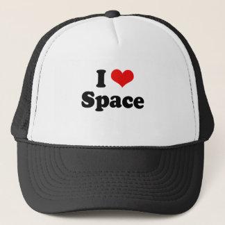 I Love Space Tshirt Trucker Hat