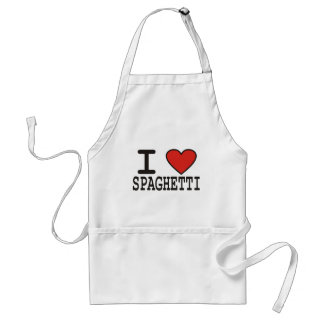 I Love Spaghetti Standard Apron