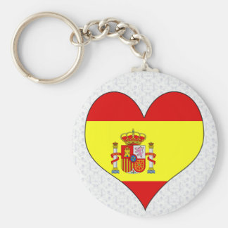 I Love Spain Key Ring