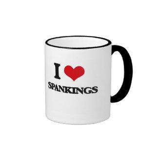 I love Spankings Ringer Coffee Mug