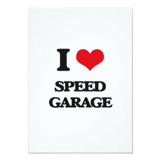 I Love SPEED GARAGE Custom Invitations