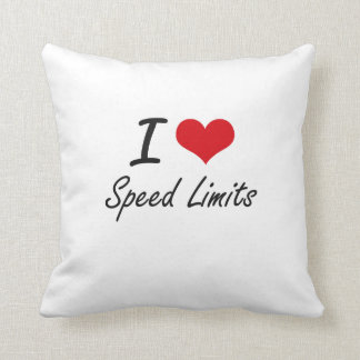 I love Speed Limits Cushion