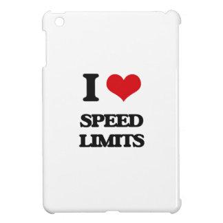 I love Speed Limits iPad Mini Cover