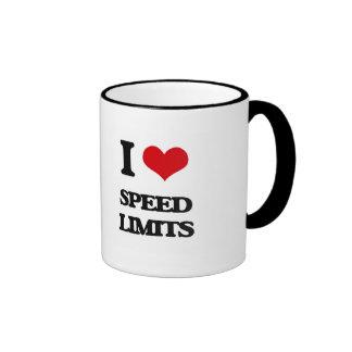 I love Speed Limits Ringer Mug