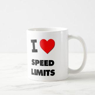 I love Speed Limits Coffee Mugs