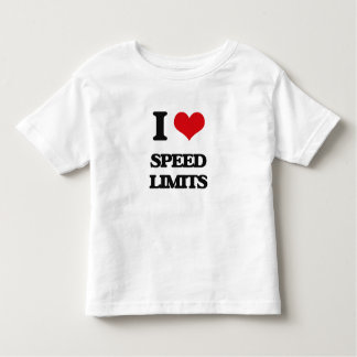 I love Speed Limits T-shirt