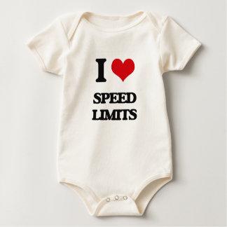 I love Speed Limits Baby Creeper