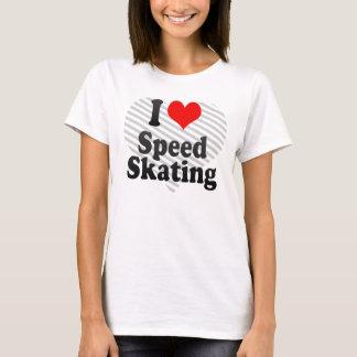 I love Speed Skating T-Shirt