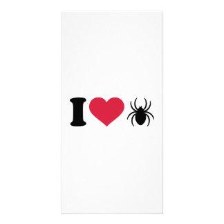 I love Spiders Custom Photo Card