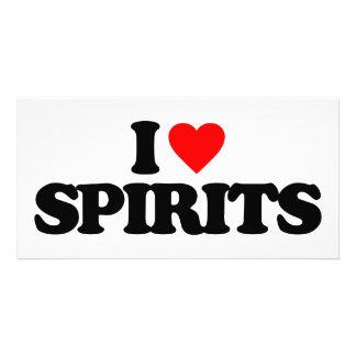 I LOVE SPIRITS PHOTO CARDS