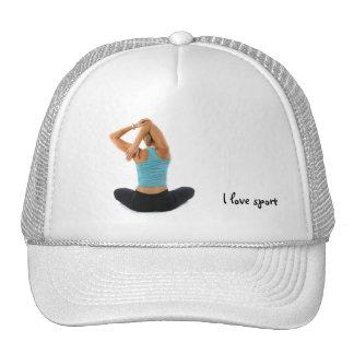 I love sport cap