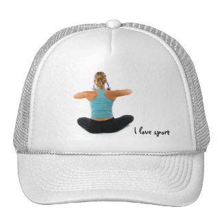 I love sport hat