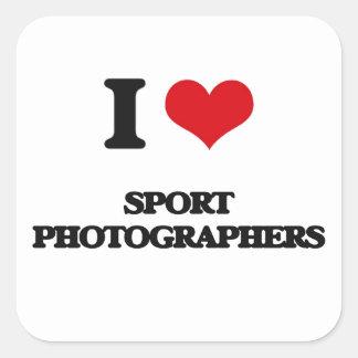 I love Sport Photographers Sticker