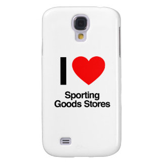 i love sporting goods stores galaxy s4 case