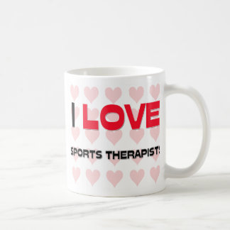 I LOVE SPORTS THERAPISTS MUGS