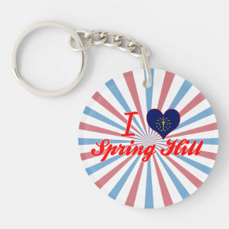 I Love Spring Hill, Indiana Key Chains