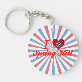 I Love Spring Hill, Tennessee Acrylic Key Chains